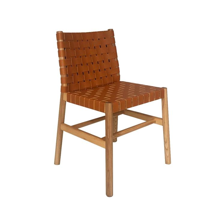 Image of Piper Leather Dining Chair