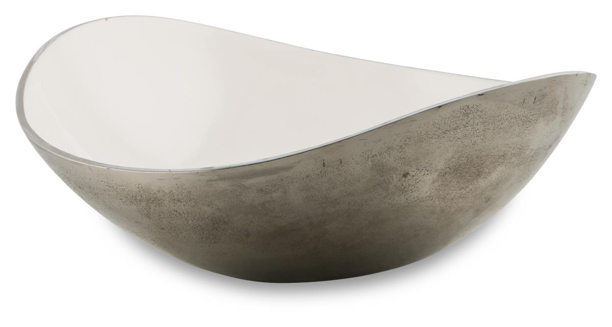 Image of Deep Curve Bowl in Fresh White