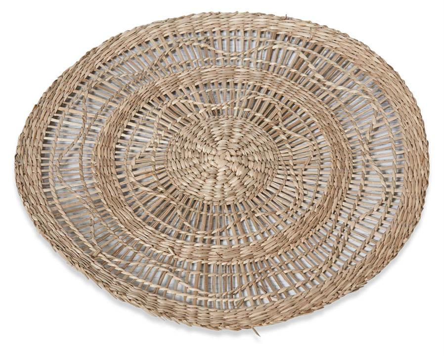 Image of Byron 35cm Natural Seagrass Placemat - Natural
