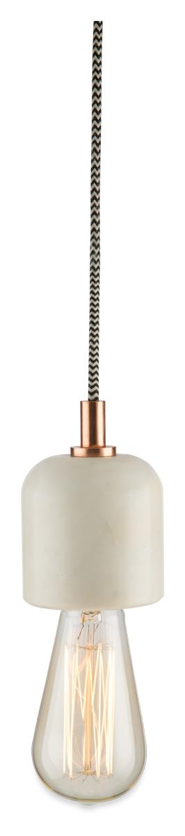 Image of Copper and Marble Pendant Hanging Light
