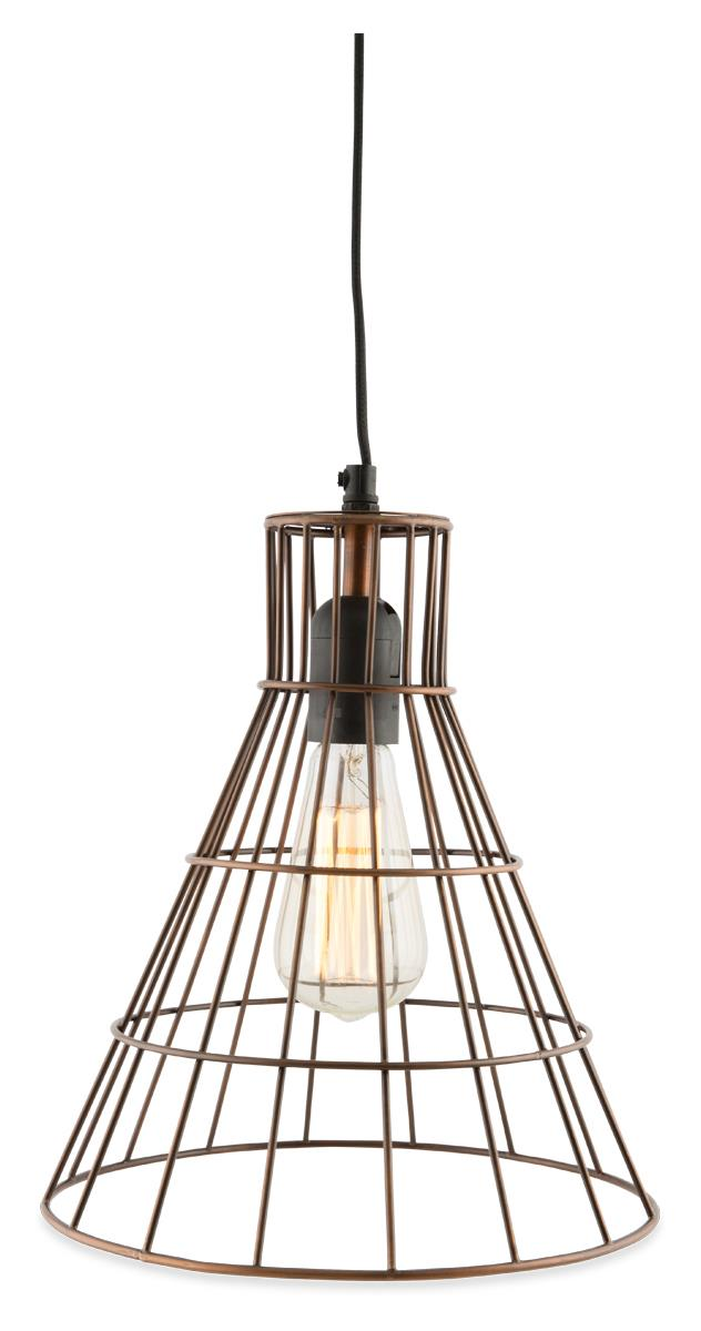 Image of Torch Galvanized Iron Wire Pendant Hanging Light