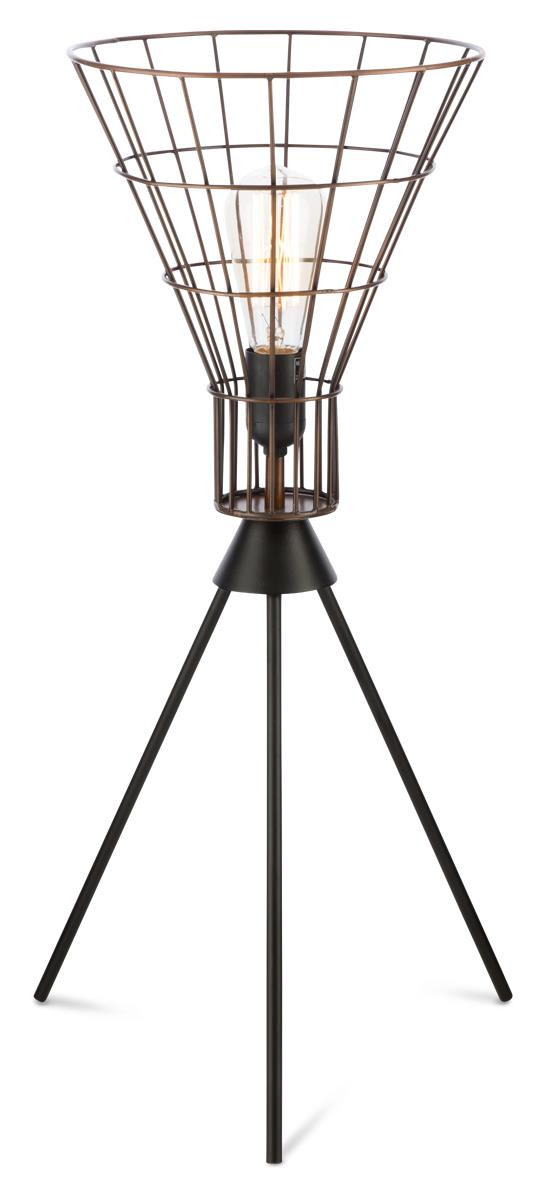 Image of Torch Iron Wire Table Lamp