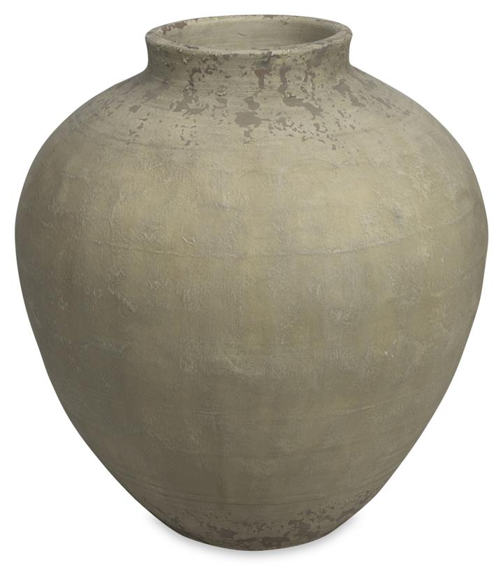 Image of Medium Aegina Ceramic Pot, Natural Finish