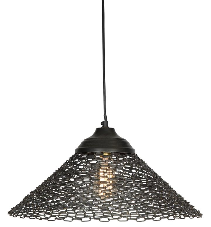 Image of Intensely alluring, fanned chain lamp