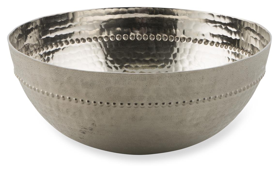Image of Kamal Large Aluminium Round Curved Bowl