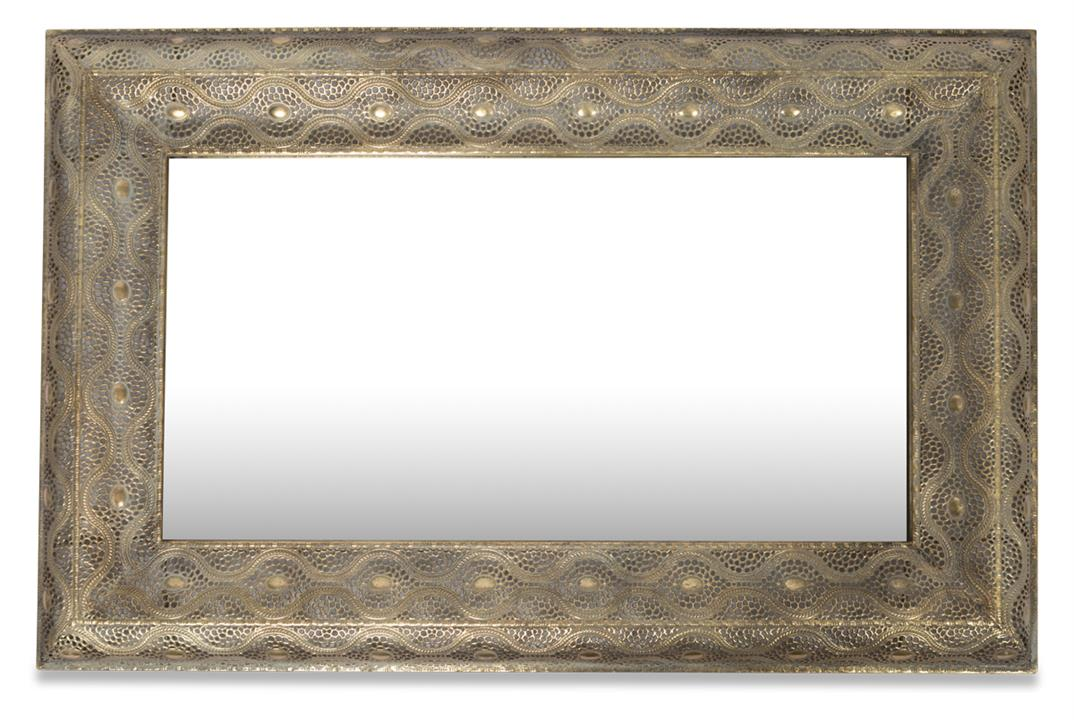 Image of Filigree Rectangular Wall Mirror