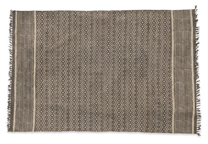Image of Rug Tribal Cotton Print-Natura