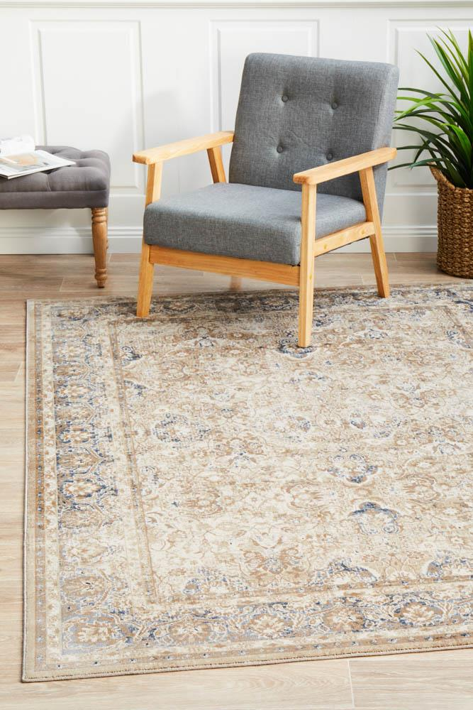 Image of Esquire Ballad Traditional Cream Rug 230X160cm