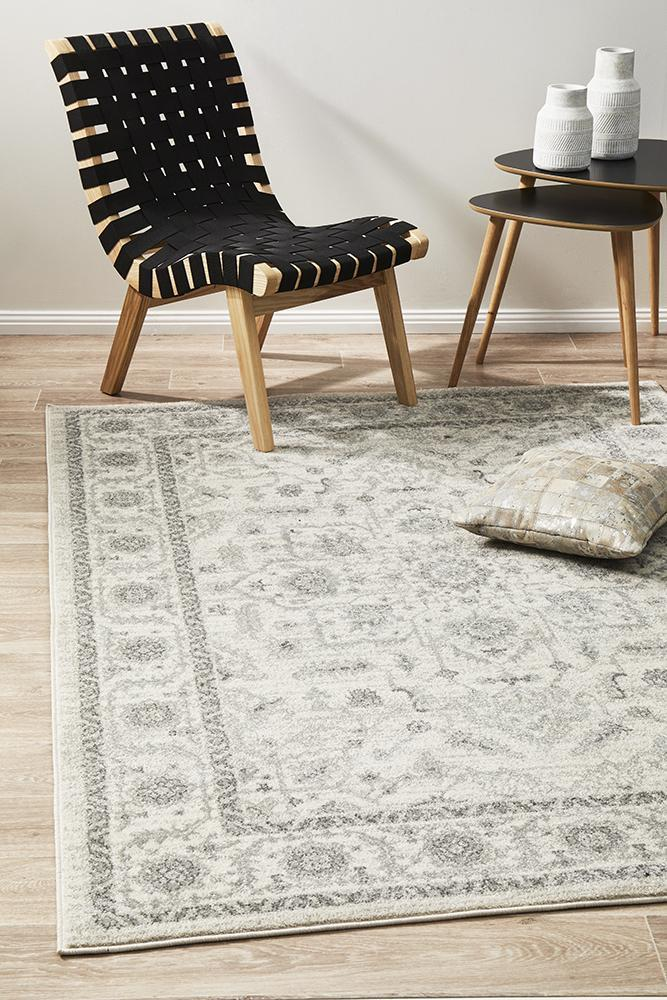 Image of Winter White Transitional Rug 290x200cm