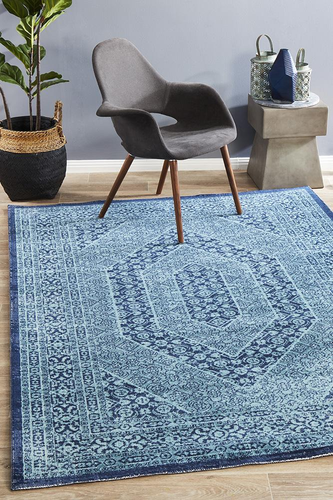 Image of Whisper Vision Blue Rug 400X300cm