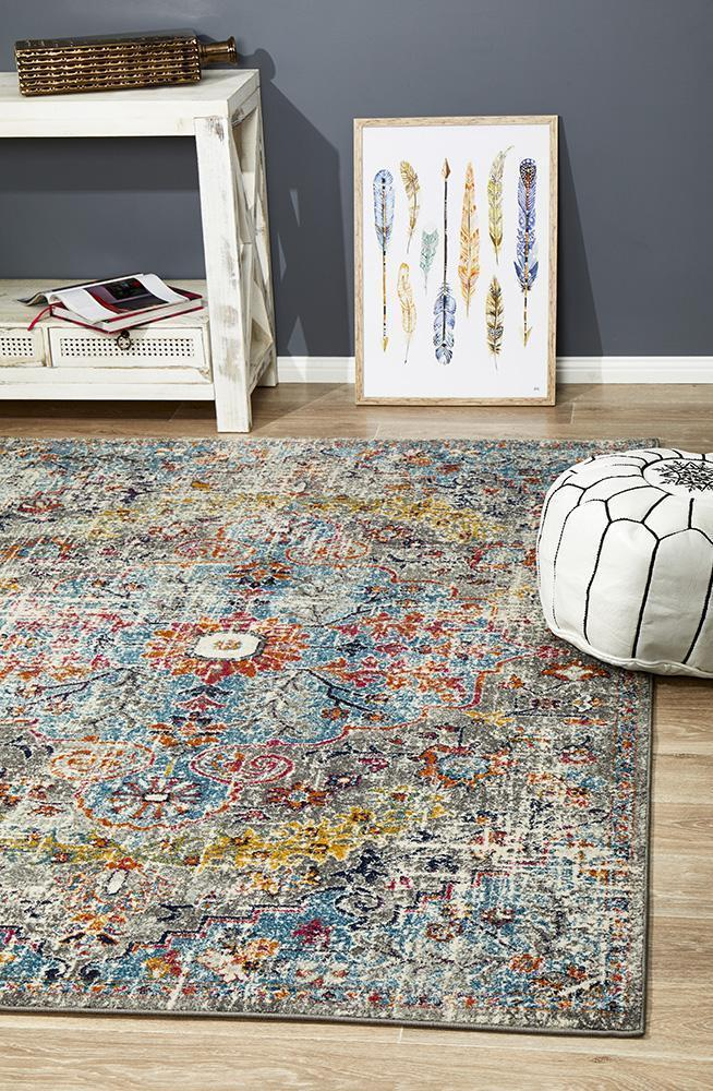 Image of Museum Huxley Multi Coloured Rug 400X300