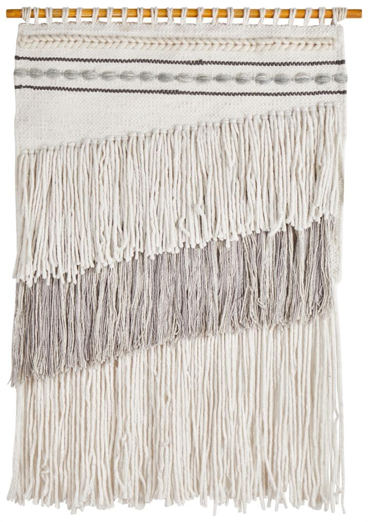 Image of Home 431 Grey Wall Hanging 90x60cm