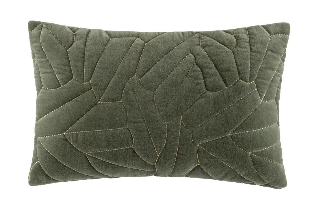 Image of Linen Cushion 50x50 - Olive Square