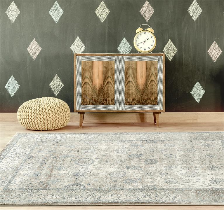 Image of Esquire Vine Traditional Cream Rug 230X160cm