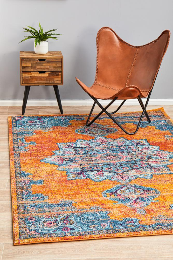 Image of Radiance 433 Rust Rug - 230X160CM