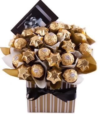 Image of Gift Giving - Chocolate Bouquet Gift Hamper