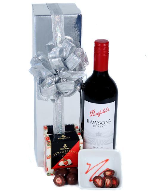 Send The Red - Wine & Chocolate Hamper