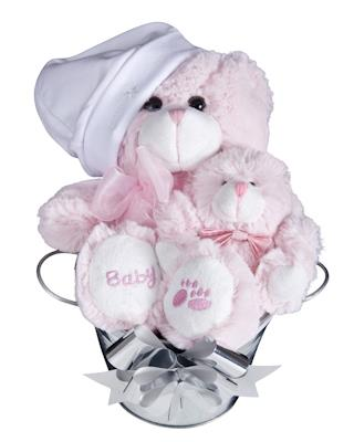 Image of Bub Bucket (Girl) Baby Hamper