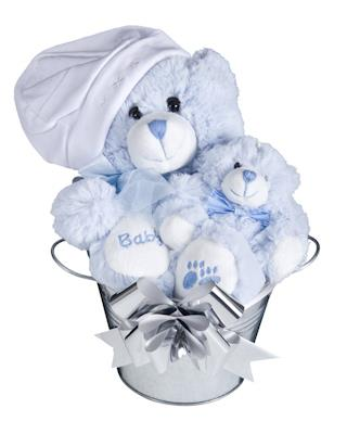 Image of Bub Bucket (Boy) Baby Hamper