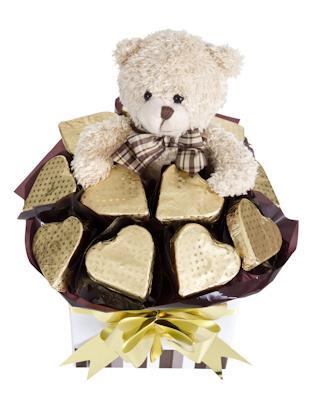 Image of Golden Bear - Baby Hamper