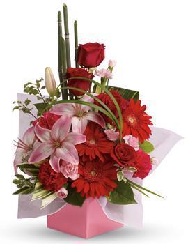 Image of Artistic Expression Flower Arrangement