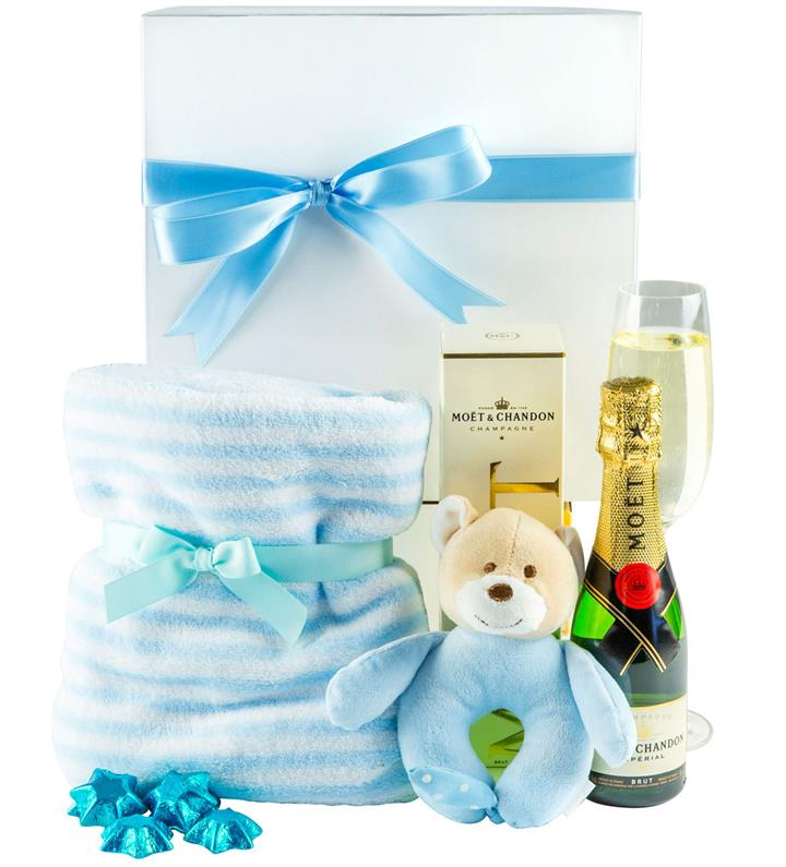 Snuggles & Bubbles Boy - Baby Hamper