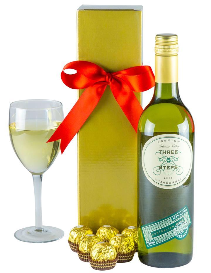 Wonderful White - Gourmet Wine Gift Hamper