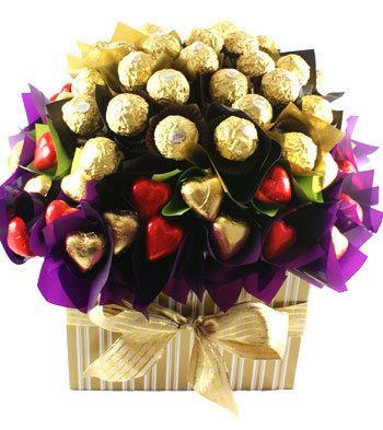 Flowers of Ferrero - Chocolate Hamper