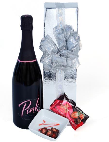Pink Sparkles - Wine Hamper