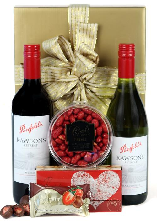 Red and White Delight - Gift Hamper