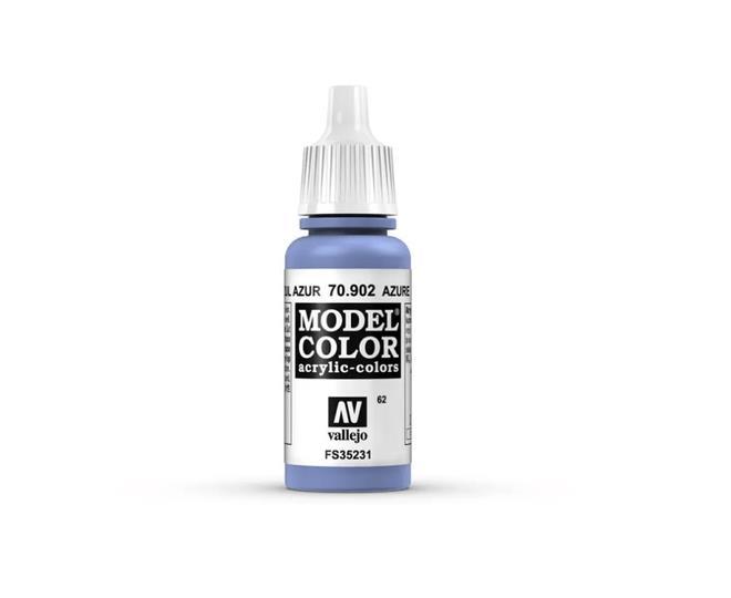 Vallejo Model Colour - Azure 17ml Acrylic Paint (AV70902)
