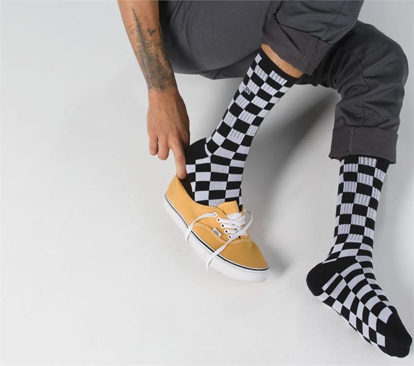 Image of Vans Checkerboard 2 Black Vans designer shoes and fashion