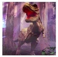 Image of 3D LiveLife Holographic Large Greeting Card - T-Rex Trouble