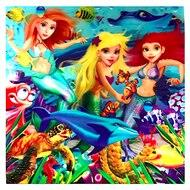 Image of 3D LiveLife Holographic Large Greeting Card - Mermaid Magic