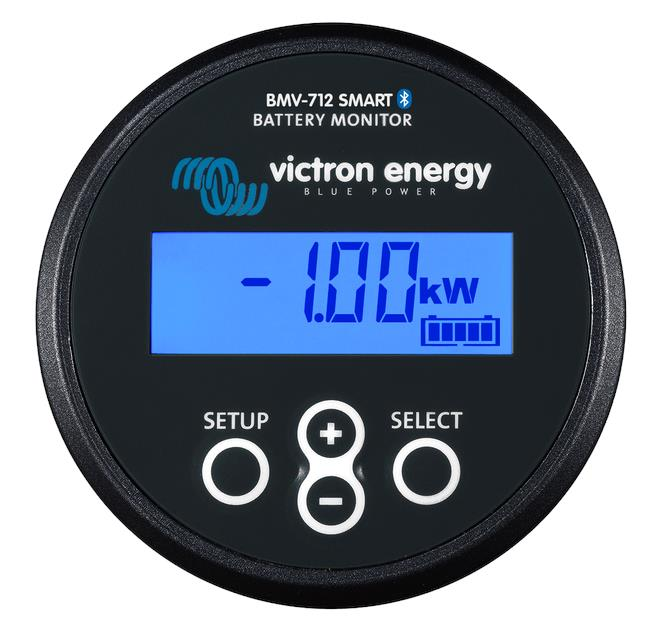 Victron Battery Monitor BMV-712 Smart Black, 5 Year Warranty
