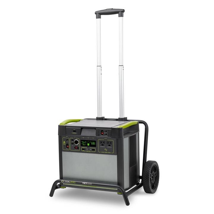 Goal Zero Yeti 3000X Lithium Portable Power Pack and Roll Cart 276.1Ah, 1 Year Warranty