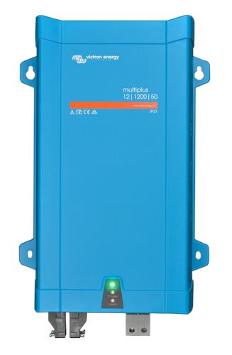 Image of Victron MultiPlus Inverter Charger 12V / 1200VA / 50A Battery Charger with 16A AC Transfer Switch, 5 Year Warranty