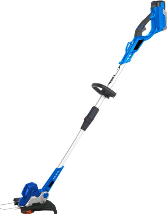 Hyundai 40V Battery Grass Trimmer 330mm, Skin Only, with Shoulder Strap, 2 Year Warranty