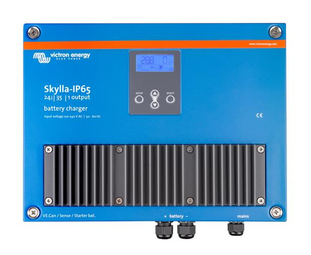 Image of Victron Skylla-IP65 24V/35A Battery Charger (1+1) 120-240V, 5 Year Warranty