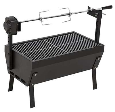 Image of Charmate Small Charcoal Spit Roaster, 1 Year Warranty