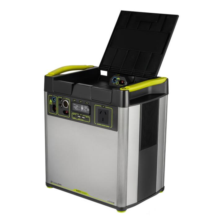 Image of Goal Zero Yeti 6000X Lithium Portable Power Station and Roll Cart 556.5Ah, 1 Year Warranty