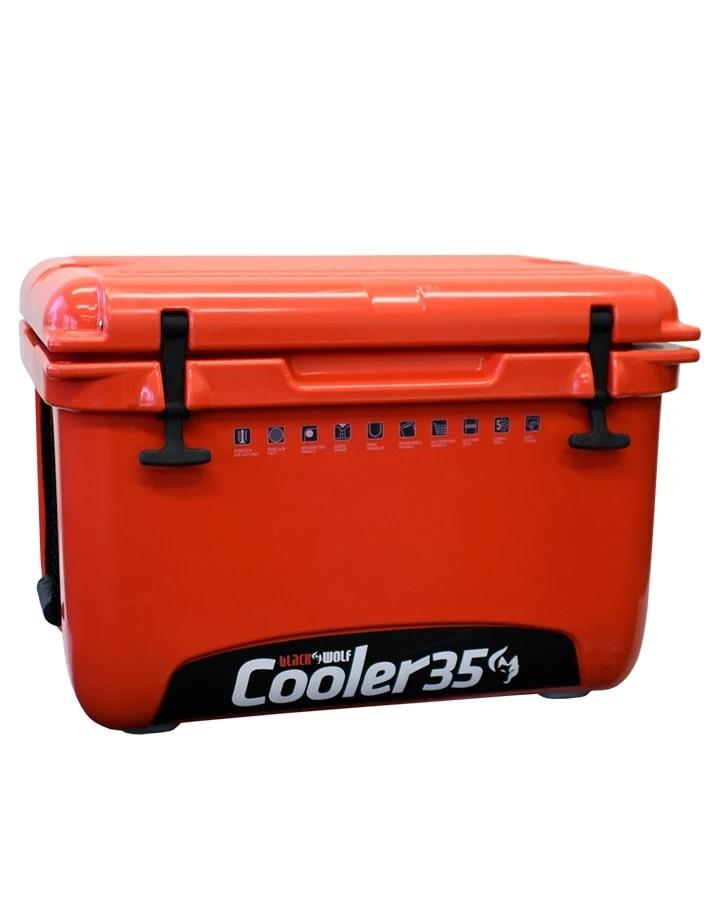 Image of BlackWolf 35 Litre Hardside Icebox Cooler, 1 Year Warranty