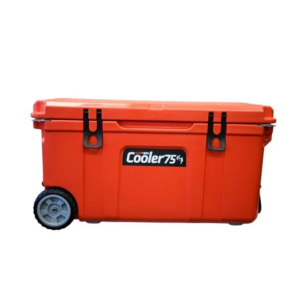 BlackWolf 75 Litre Hardside Icebox Cooler, 1 Year Warranty
