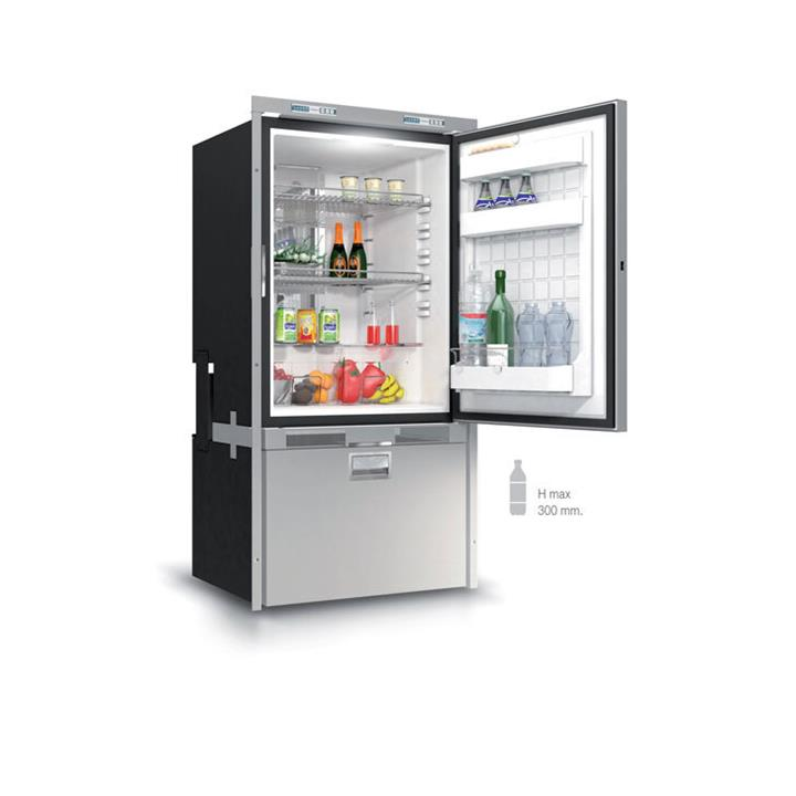 Image of Vitrifrigo 12/24V DW250 BTX OCX2 232L Fridge / Drawer Freezer, 2 Year Warranty