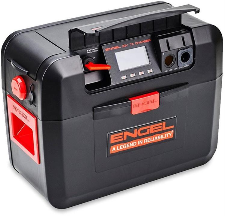 Engel Smart Battery Box Series 2, capacity to hold up 130 Ah battery, 1 Year Warranty