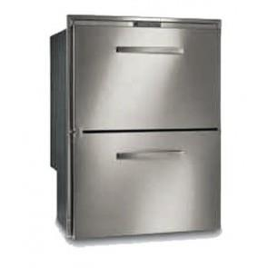 Image of Vitrifrigo DW180.2DT Stainless Steel Two-Drawer Fridge Freezer 144L, 2 Year Warranty