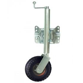 BLA Jockey Wheel - Swing Away, Pneumatic Wheel, 1 Year Warranty