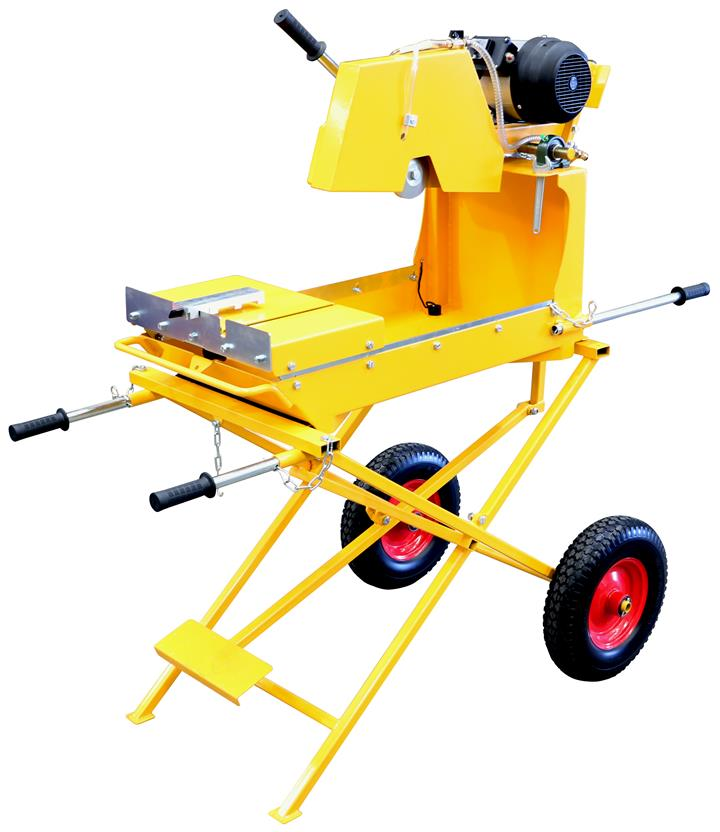 "Image of 14"" Crommelins Electric Industrial Bricksaw, 1 Year Warranty"