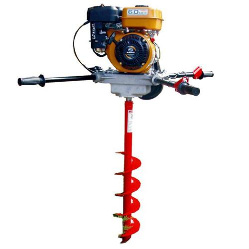 Crommelins Robin Two-Man Post Hole Digger, 1 Year Warranty + 3 Year Engine Warranty