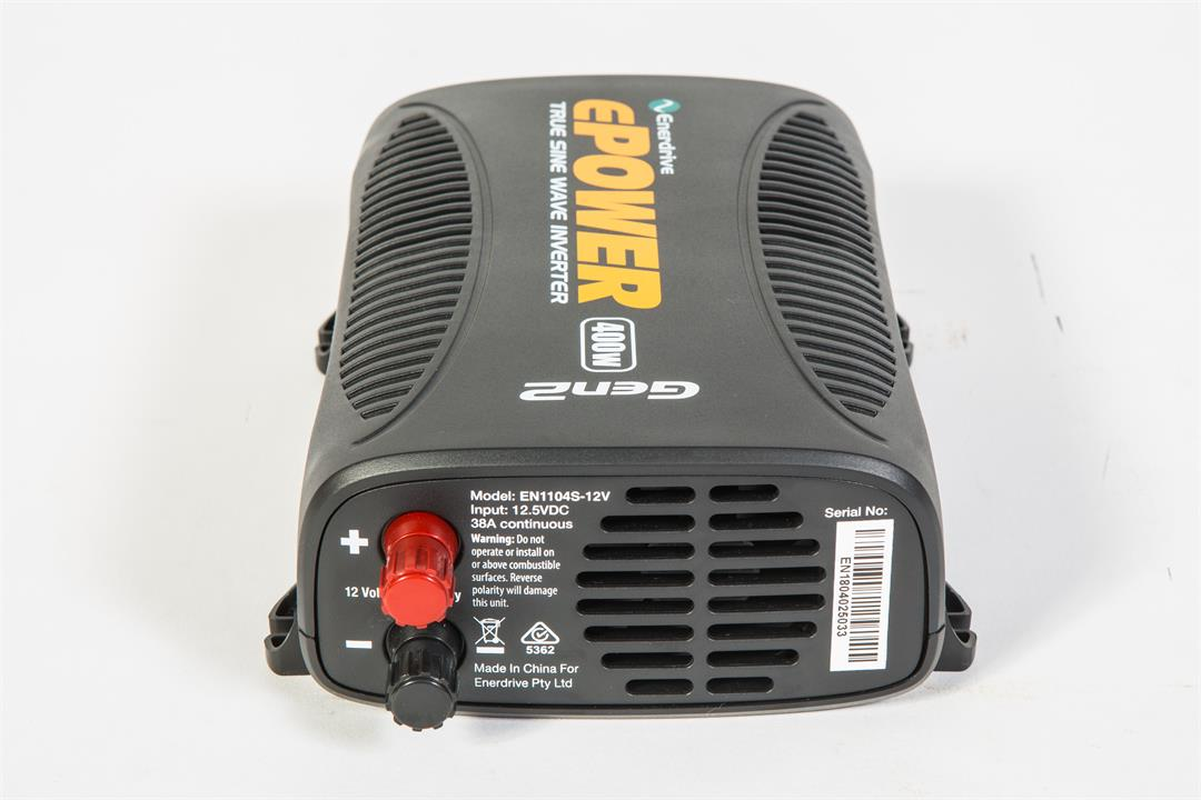 Image of Enerdrive, ePOWER 400W Pure sine wave power inverter, 5 Year Warranty